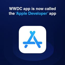 Apple renames WWDC app to Apple Developer