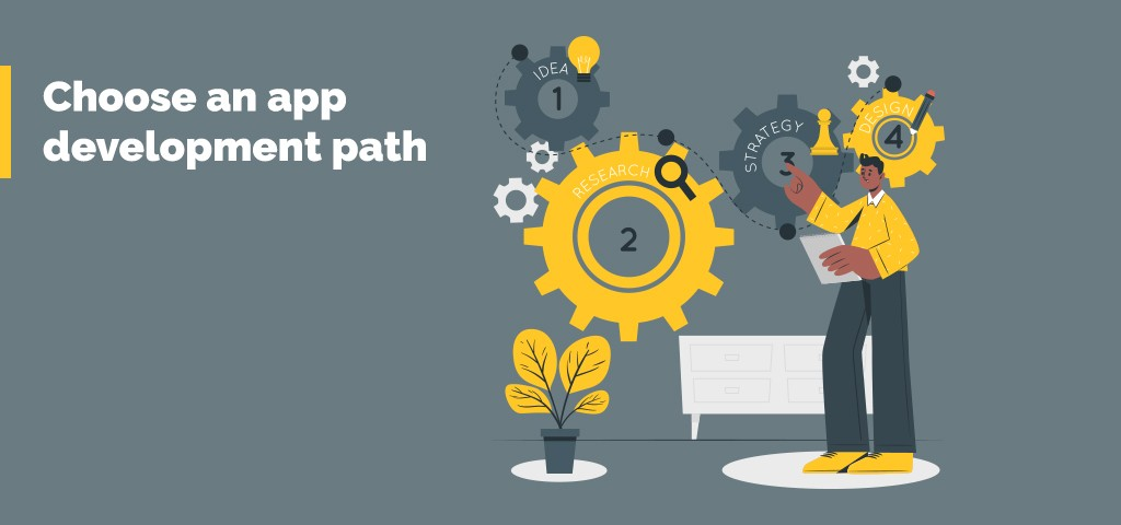 App development path