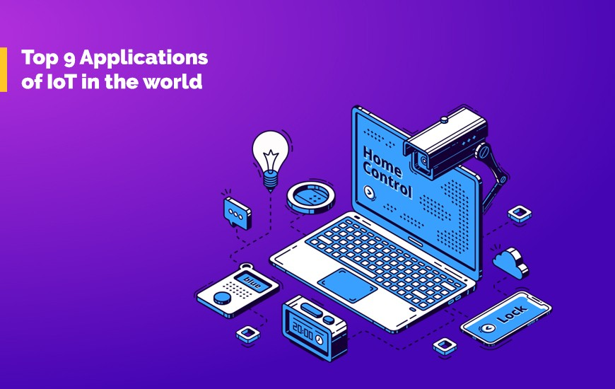 Top 9 Applications of IoT in the world cover
